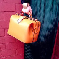 (99+) 80'S Retro Vintage Orange Doctor Bag | trendypanda | ASOS Marketplace