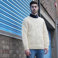 (99+) Vintage Ivory Cable Jumper | THE WHITEPEPPER | ASOS Marketplace