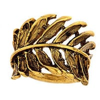 Max &amp; Chloe - Allison Daniel Wrapped Leaf Ring - Max and Chloe
