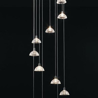 H907-MD93705-12A REGENCY Modern & Contemporary (Without Crystal) By Regency-MD10 Collection 12 Lights Chandelier