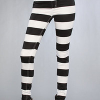 The Second Skin Jean in Wide Stripe : Cheap Monday : Karmaloop.com - Global Concrete Culture