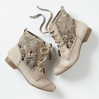 Irene Lace Booties - Anthropologie.com
