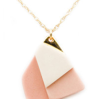 Fields Necklace in Salmon | LEIF