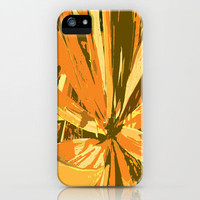 Orange Bromeliad iPhone Case by Rosie Brown | Society6