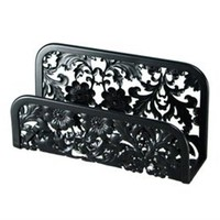 Blooming Business Card Holder- Black