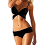 Black Sexy Bikini Women Trikini Swimsuit
