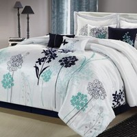 Chic Home Oasis 8 Piece Comforter Set Size: Queen: Home & Kitchen