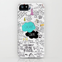 The Fault in Our Stars- John Green iPhone Case by Natasha Ramon