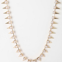 Urban Outfitters - Stratton Spike Necklace