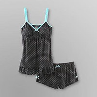Joe Boxer- -Junior's Pajamas - Polka Dots-Clothing-Juniors-Intimates