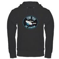 Star Trek USS Enterprise Hoodie (dark)> Star Trek Enterprise> The Tshirt Painter
