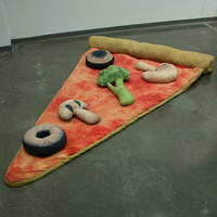 Pizza Sleeping Bag by Bfiberandcraft on Etsy