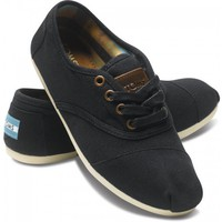 Cordones - Black Canvas Women's Cordones | TOMS.com