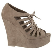 Libby Lace Up Wedges - maurices.com