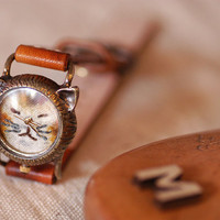 Vintage watch. ///////// Hndcraft watch ///////// NekoNeko