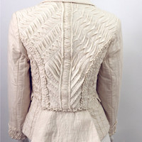 "New ""Calico Couture""  Womens Tailored Wearable Art Jacket"