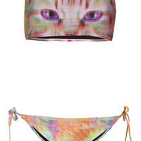Pink Kitty Bandeau Bikini - New In This Week  - New In