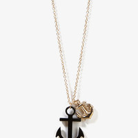 Anchor Charm Necklace