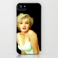 Marilyn Monroe Painting iPhone Case by Mamboo | Society6