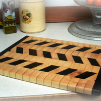 EndGrain Cutting Board Mother's Day Gift by BillsWoodenPleasures
