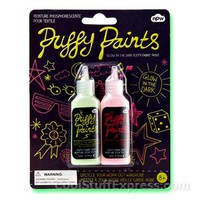 Glow in the Dark Puffy Fabric Paint