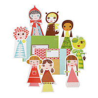 Paper Doll Parade Stationery
