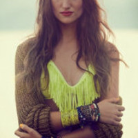 Fringe Halter Top at Free People Clothing Boutique
