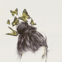 Hair II Art Print by The White Deer | Society6