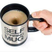 Cool Self Stirring Mug Cup
