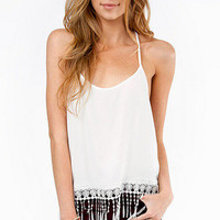 Tessa T-Back Crop Tank $26
