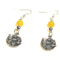 Passover Earrings - Yellow