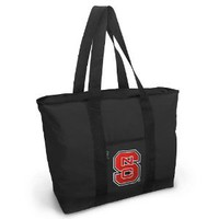 Amazon.com: NC State Tote Bag Black Deluxe NC State Wolfpack - For Travel or Beach Best Unique Gift Ideas for Her, Women, or Ladies: Sports & Outdoors