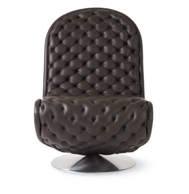 System 1-2-3 Lounge Chair in Deluxe Leather
