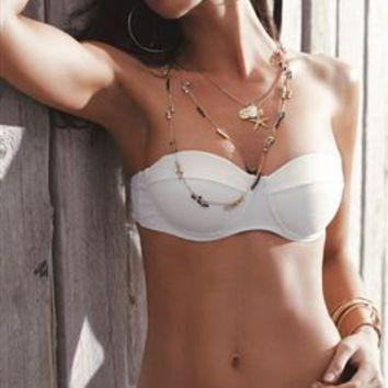 Underwire Bandeau Top   Everything But Water