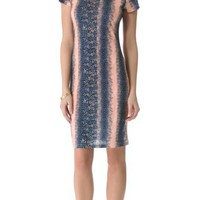 10 Crosby Derek Lam Lizard Jersey Tee Dress | SHOPBOP