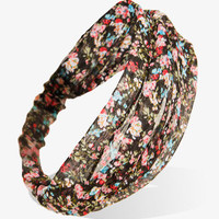 Metallic Floral Headwrap | FOREVER 21 - 1026775492