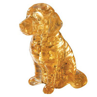 3D Crystal Puppy Dog Puzzle - The Afternoon