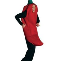 Amazon.com: Adult Chili Pepper Costume: Clothing