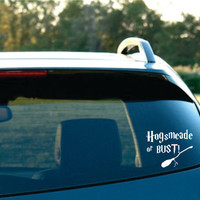Harry Potter Inspired Hogsmeade or bust Vinyl by NothinbutVinyl