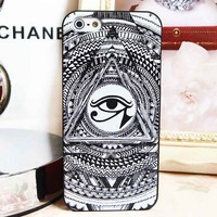 Eye of Providence Pattern Case for iPhone 5 [773]