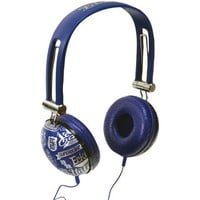 Ecko Impact Over-The-Ear Headphones With Microphone (Blue) from Jannie's LiveDeals