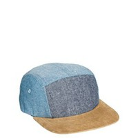 ASOS 5 Panel with Contrast Peak and Front Panel at asos.com