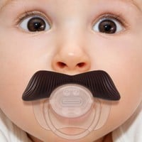 Stachifier - The Ladies Man Mustache Pacifier: Baby