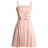 Bqueen Detachable Straps Dress Pink FK008F - Designer Shoes|Bqueenshoes.com