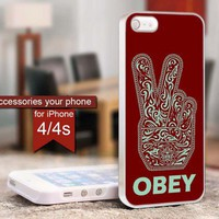 OBEY Peace - For iPhone 4 / 4s Case