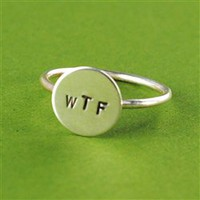 WTF Stacking Ring - Spiffing Jewelry