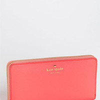 kate spade new york &#x27;mikas pond - lacey&#x27; zip around wallet | Nordstrom
