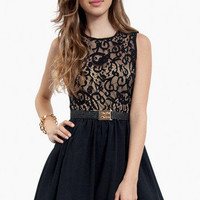 Lace Up Top Dress $26