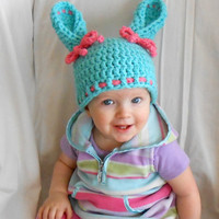 Bunny Hat Easter Bunny Hat Newborn Bunny Hat Easter Photo Props