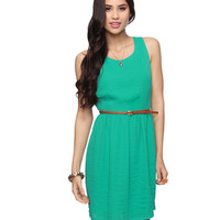 Textured Sleeveless Dress | FOREVER21 - 2011409746